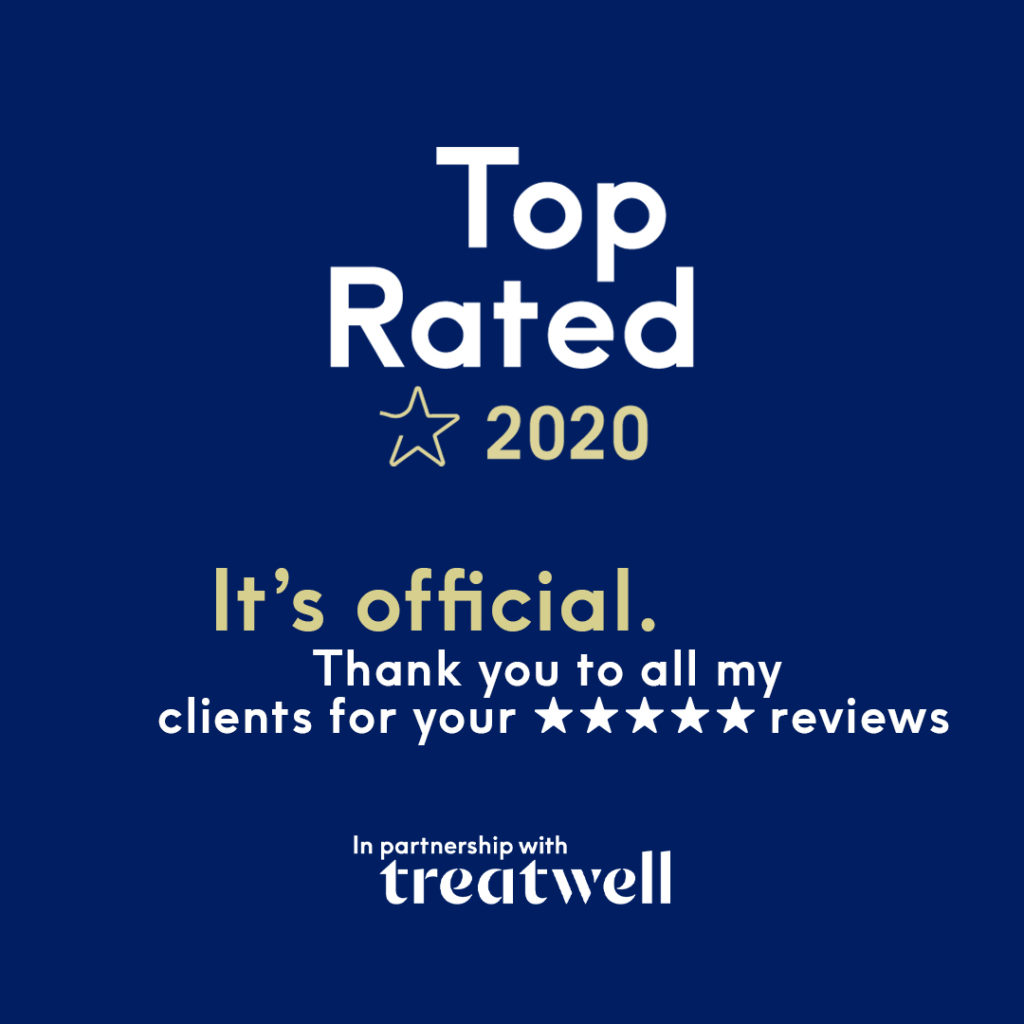 Top rated massage therapist 2020