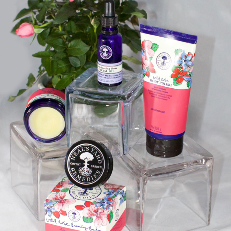 neals face massage products